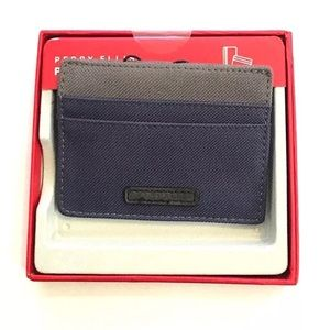 Perry Ellis Portfolio Card Case Wallet